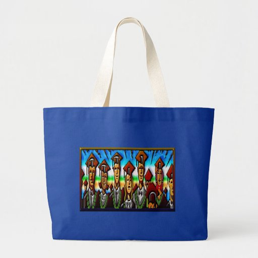 College Tech or High School Graduate Print Tote Bag
