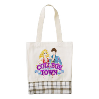 College Town Tote Bag