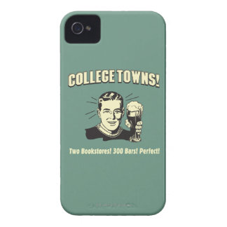 College Towns: 2 Bookstores 300 Bars iPhone 4 Case-Mate Cases