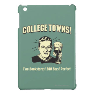 College Towns: 2 Bookstores 300 Bars iPad Mini Cases