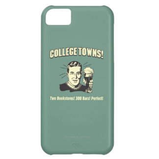 College Towns: 2 Bookstores 300 Bars iPhone 5C Case