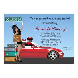 Trunk Party Invitations Announcements Zazzle