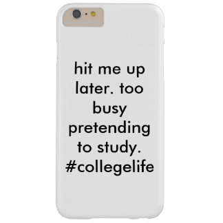 #collegelife funda barely there iPhone 6 plus