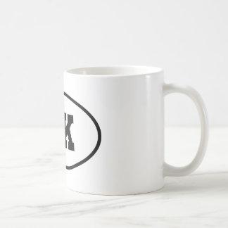 Collegiate 5K Runner Oval Coffee Mug