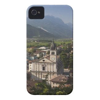 Collegiate church in morning, Arco, Trento iPhone 4 Case-Mate Case