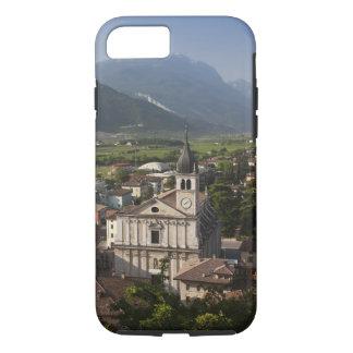 Collegiate church in morning, Arco, Trento iPhone 8/7 Case