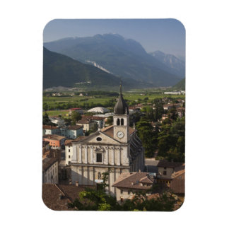 Collegiate church in morning, Arco, Trento Magnet
