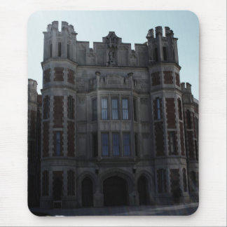 Collegiate Gothic Building with Lens Flare Mouse Pad