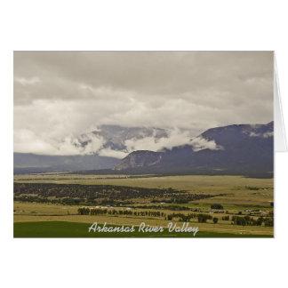 Collegiate Peaks,Salida Card