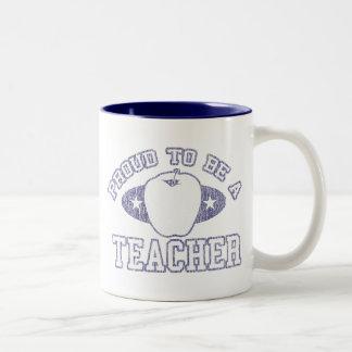 Collegiate Proud Teacher Mug