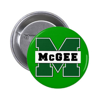 Collegiate-Style McGee Logo Button