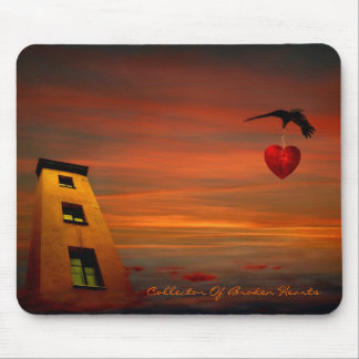 Collektor Of Broken Hearts Mouse Pads