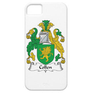 Collen Family Crest iPhone 5 Covers