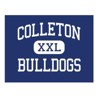 Colleton Bulldogs Middle Walterboro Postcard