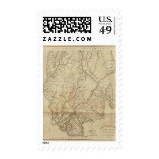 Colleton District, South Carolina Stamp