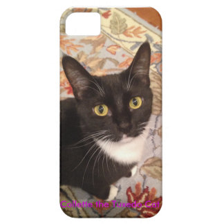 Collette the Tuxedo Cat iPhone Case