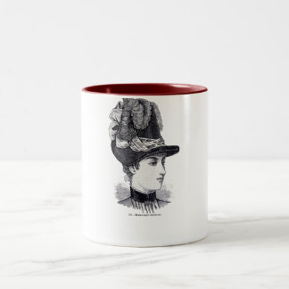 """Collette"" Two-Tone Coffee Mug"
