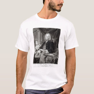 Colley Cibber  1758, engraved by Edward Fisher T-Shirt