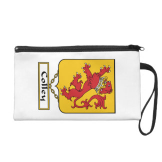 Colley Family Crest Wristlet