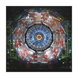 COLLIDER GRANDE DEL HADRON DE LA CERN LONA ENVUELTA PARA GALERÍAS