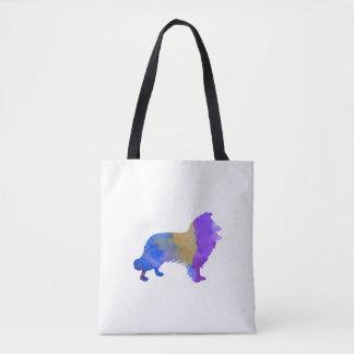 Collie Art Tote Bag
