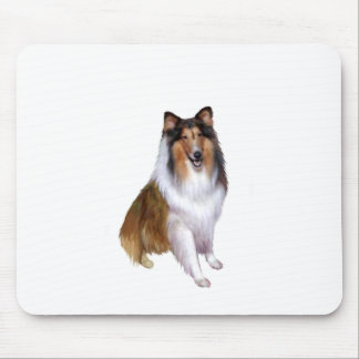 Collie (B) - Sable and white #2 Mouse Pad