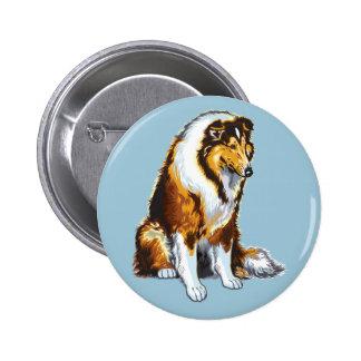 collie 2 inch round button