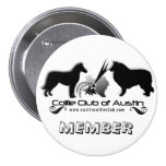 Collie Club of Austin Logo Button - Member