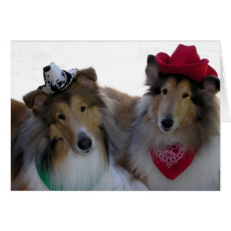Collie Cowpokes All Occasion Card