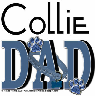 Collie DAD Photo Sculptures