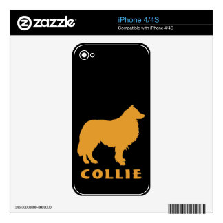 Collie Decals For The iPhone 4