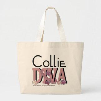 Collie DIVA Jumbo Tote Bag