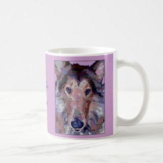 Collie Dog Dazzling Colors Mug