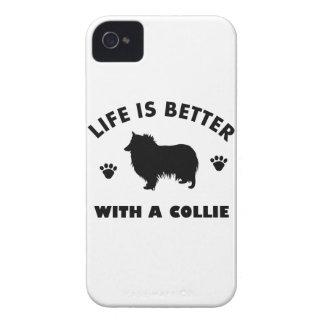 collie dog design iPhone 4 case