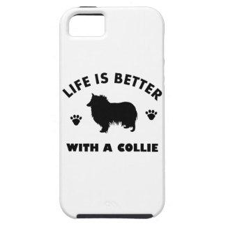 collie dog design iPhone SE/5/5s case