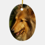 Collie Dog Ornament