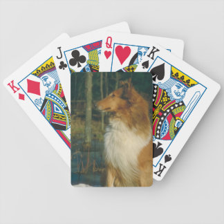 Collie Dog Playing Cards