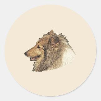 Collie Friend Sticker