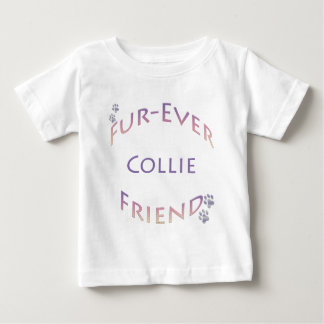 Collie Furever Baby T-Shirt