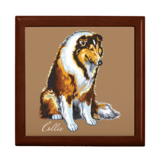 collie jewelry boxes