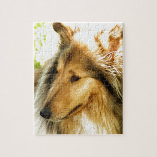 Collie Jigsaw Puzzle