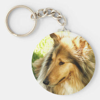 Collie Keychain