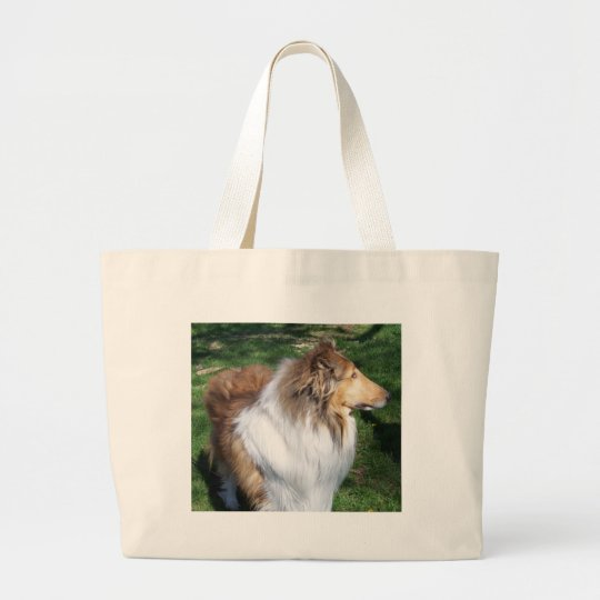 COLLIE LARGE TOTE BAG