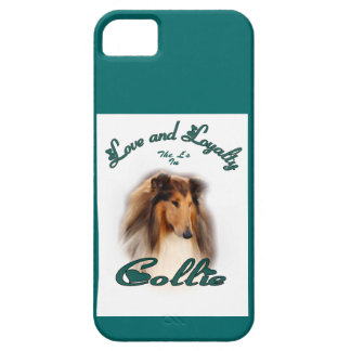 Collie Love and Loyalty iPhone SE/5/5s Case