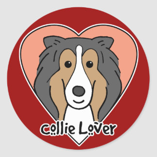 Collie Lover Stickers
