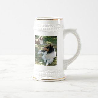 COLLIE LOVERS STEIN