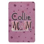 Collie MOM Vinyl Magnet