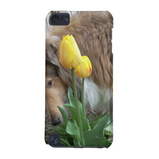 Collie N The Tulips iPod Touch (5th Generation) Case