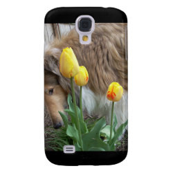 Case-Mate Barely There Samsung Galaxy S4 Case with Collie Phone Cases design