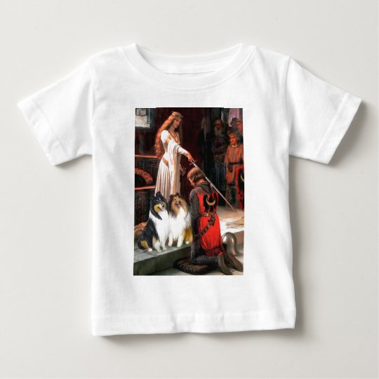 Collie Pair 1 - The Accolade Baby T-Shirt
